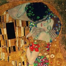 Klimt's Der Kuss