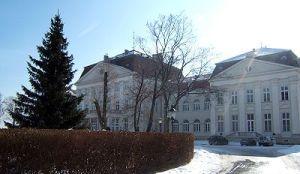 Castle Wilhelminenberg in winter
